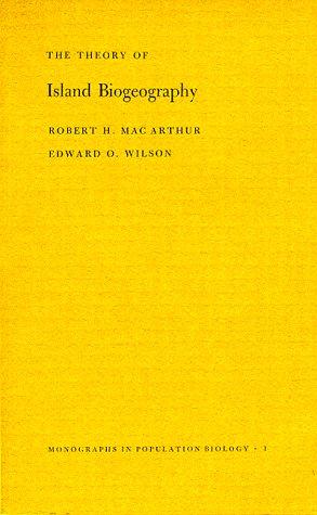 9780691080505: Theory of Island Biogeography. (MPB-1) (Monographs in Population Biology)