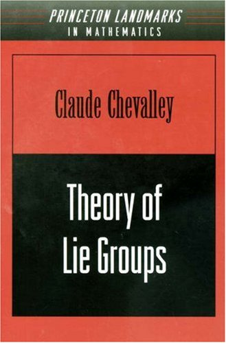 9780691080529: Theory of Lie Groups (PMS-8) (Princeton Mathematical Series)
