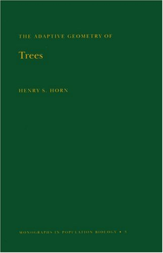 9780691080895: Adaptive Geometry of Trees. (MPB-3) (Monographs in Population Biology)