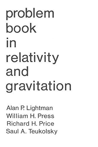 PROBLEM BOOK in RELATIVITY and GRAVITATION, Fine/Almost: LIGHTMAN, Alan P.;