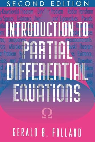 9780691081779: Introduction to Partial Differential Equations. (MN-17), Volume 17 (Mathematical Notes)