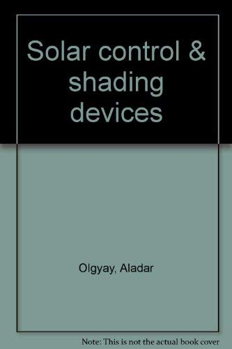 9780691081861: Solar Control & Shading Devices