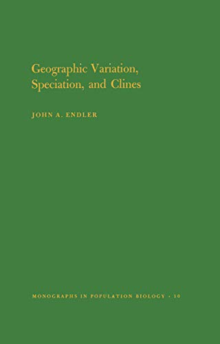 9780691081922: Geographic Variation, Speciation, and Clines