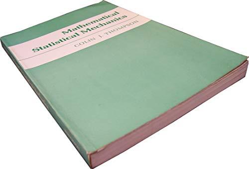 9780691082202: Mathematical Statistical Mechanics (Princeton Legacy Library)