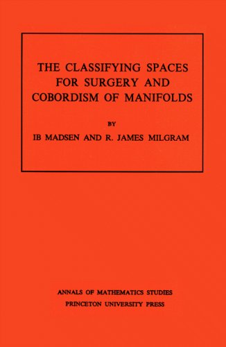 Classifying Spaces for Surgery and Corbordism of Manifolds. (AM-92) (Annals of Mathematics Studies)...