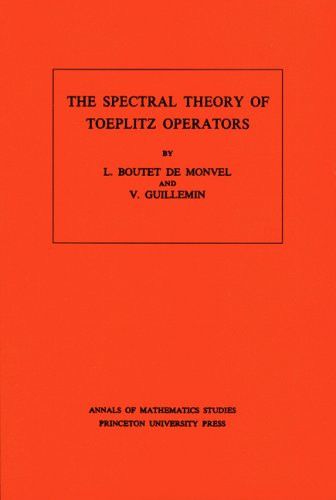 9780691082844: The Spectral Theory of Toeplitz Operators. (AM-99) (Annals of Mathematics Studies)