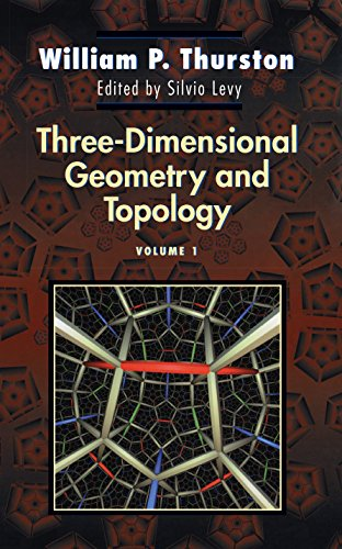 9780691083049: Three-Dimensional Geometry and Topology: 1