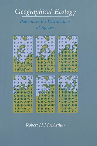 9780691083537: Geographical Ecology: Patterns in the Distribution of Species