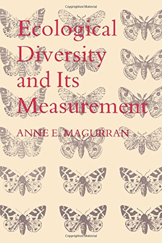 9780691084916: Ecological Diversity and Its Measurement