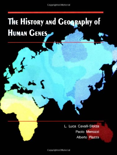 9780691087504: The History and Geography of Human Genes