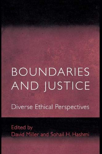 9780691087993: Boundaries and Justice: Diverse Ethical Perspectives (Ethikon Series in Comparative Ethics)