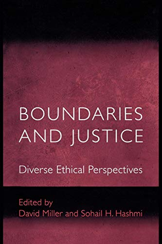 9780691088006: Boundaries and Justice: Diverse Ethical Perspectives (Ethikon Series in Comparative Ethics)
