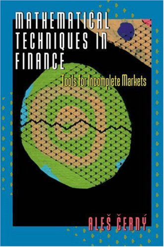 9780691088068: Mathematical Techniques in Finance: Tools for Incomplete Markets