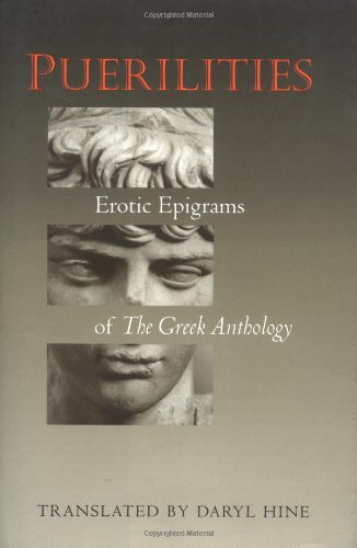 9780691088198: Puerilities: Erotic Epigrams of The Greek Anthology (Lockert Library of Poetry in Translation)