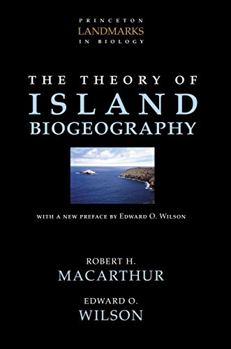 9780691088365: The Theory of Island Biogeography (Princeton Landmarks in Biology)