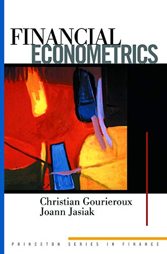 9780691088723: Financial Econometrics: Problems, Models, and Methods