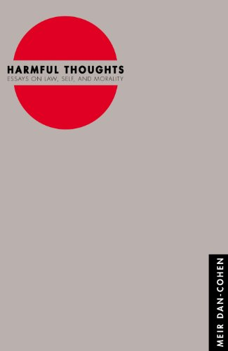 9780691090078: Harmful Thoughts: Essays on Law, Self, and Morality
