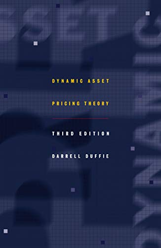 9780691090221: Dynamic Asset Pricing Theory (Princeton Series in Finance)
