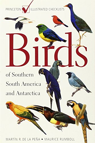 9780691090351: Birds of Southern South America and Antarctica: (Princeton Illustrated Checklists)