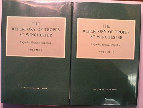 Repertory of Tropes at Winchester (2 Volume Set): Alejandro Enrique Planchart