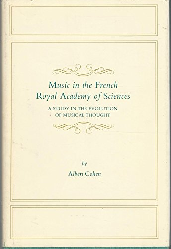 Music in the French Royal Academy of: Albert Cohen