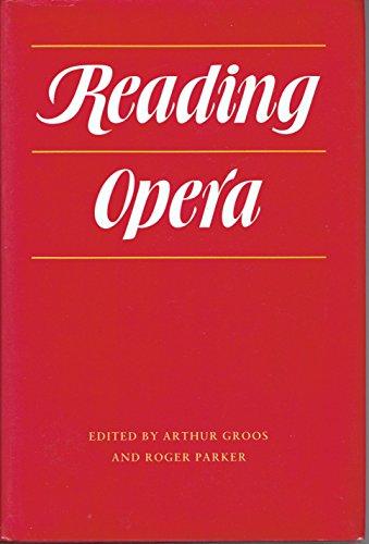 9780691091327: Reading Opera (Princeton Legacy Library)