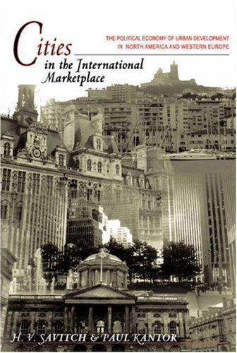 9780691091594: Cities in the International Marketplace: The Political Economy of Urban Development in North America and Western Europe