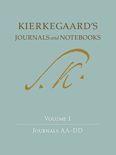 9780691092225: Soren Kierkegaard's Journals and Notebooks, Vol. 1: Journals AA-DD