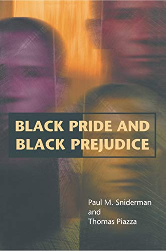 Black Pride and Black Prejudice