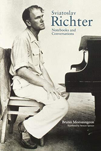 9780691095493: Sviatoslav Richter: Notebooks and Conversations