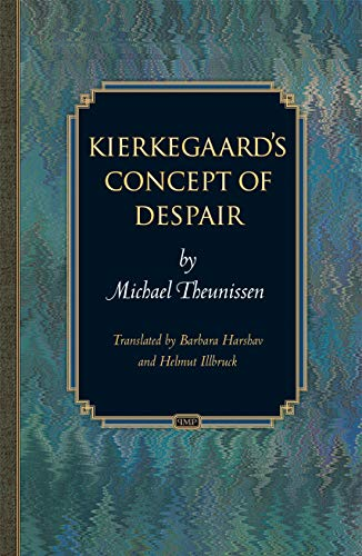 9780691095585: Kierkegaard's Concept of Despair (Princeton Monographs in Philosophy)