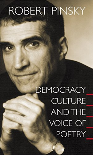 9780691096179: Democracy, Culture and the Voice of Poetry (The University Center for Human Values Series)