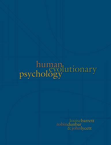 9780691096216: Human Evolutionary Psychology