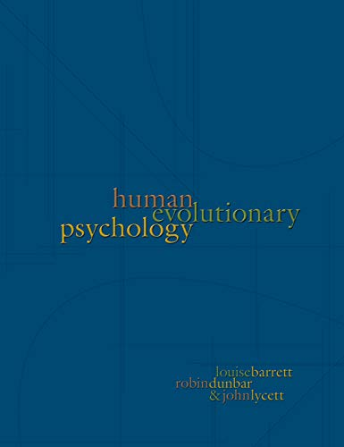 9780691096223: Human Evolutionary Psychology