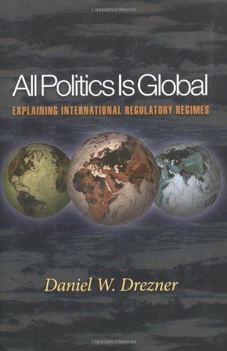 9780691096414: All Politics Is Global: Explaining International Regulatory Regimes