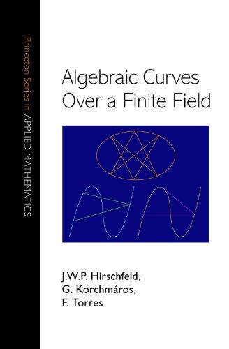 9780691096797: Algebraic Curves Over a Finite Field