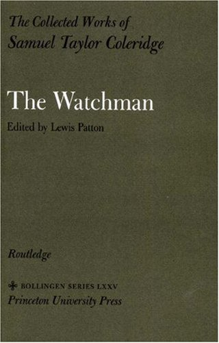 9780691097190: The Collected Works of Samuel Taylor Coleridge, Volume 2 : The Watchman
