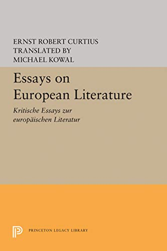 9780691097398: European Literature and the Latin Middle Ages
