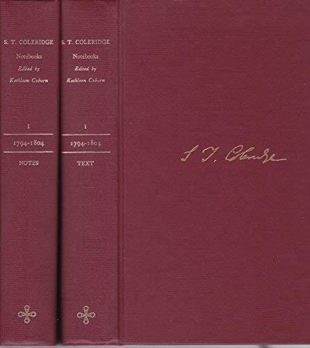 9780691098029: The Notebooks of Samuel Taylor Coleridge, Volume 1 : 1794-1804