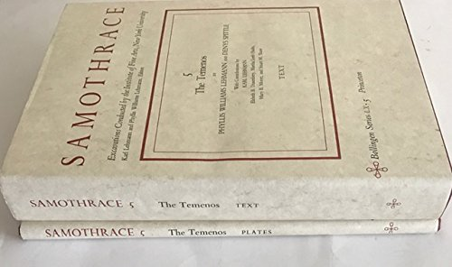 Samothrace: Volume 5 - The Temenos. (Volume I - Text, Volume II - Plates): Phyllis Williams Lehmann...