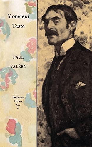 9780691099347: Monsieur Teste / The Collected Works of Paul Valery, Vol. 6