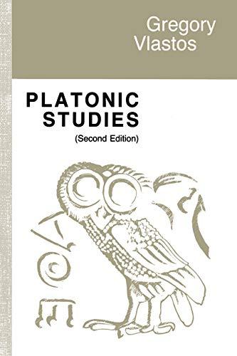 9780691100210: Platonic Studies