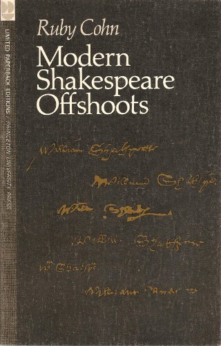 9780691100340: Modern Shakespeare Offshoots (Princeton Legacy Library)