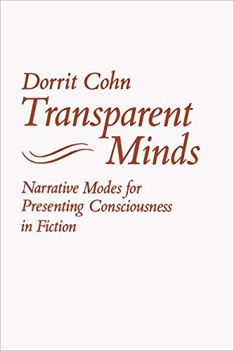 9780691101569: Transparent Minds: Narrative Modes for Presenting Consciousness in Fiction