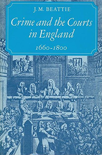 9780691101668: Crime and the Courts in England, 1660-1800