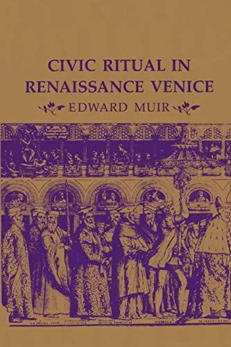 9780691102009: Civic Ritual in Renaissance Venice