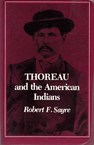 9780691102269: Thoreau and the American Indians (Princeton Legacy Library)