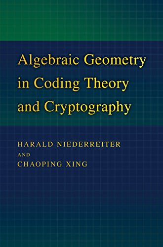9780691102887: Algebraic Geometry in Coding Theory and Cryptography