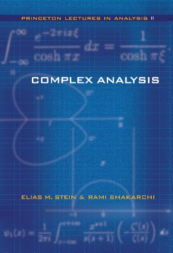 9780691113852: Complex Analysis (Princeton Lectures in Analysis)