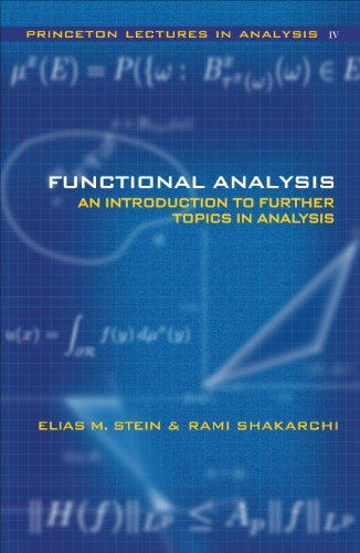 9780691113876: Functional Analysis: Introduction to Further Topics in Analysis (Princeton Lectures in Analysis) (Bk. 4)